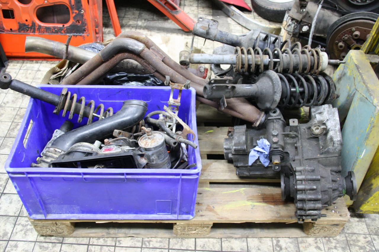 Volkswagen Golf GTI motor versnellingsbak en onderdelen (3)