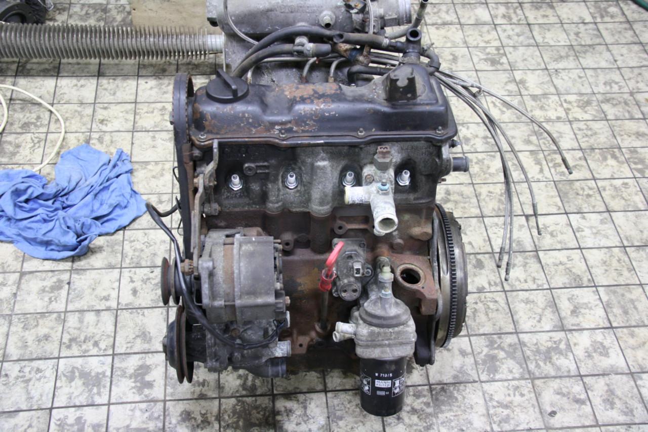 Volkswagen Golf GTI motor versnellingsbak en onderdelen (4)