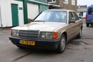 Mercedes 190 E 2.0 Automaat – voor onderdelen